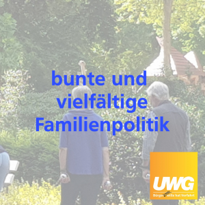 Wahlprogramm 2020 - Familie in Ahaus